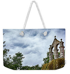 Weekender Tote Bag featuring the photograph Arch At The Monastery Of San Pedro De Rocas by Eduardo Jose Accorinti