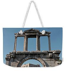 Arch Of Hadrian Weekender Tote Bag