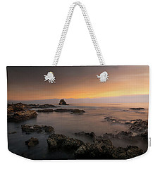 Arch Rock At Little Corona Weekender Tote Bag