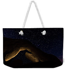 Arch Rock Weekender Tote Bag by Ed Clark