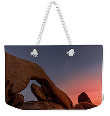 Arch Rock Sunset Weekender Tote Bag by Ed Clark
