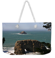 Arch Rock View Weekender Tote Bag