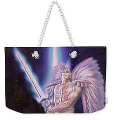 Archangel  Weekender Tote Bag by Dave Luebbert