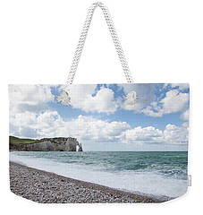 Arch At Etretat Beach, Normandie Weekender Tote Bag by Yoel Koskas