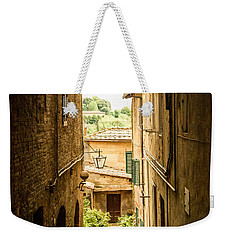Arched Alley Weekender Tote Bag