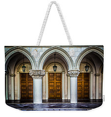 Arched Door Weekender Tote Bag