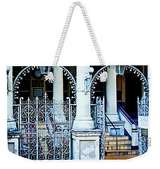 Arched Entrance In Mumbai Weekender Tote Bag by Marion McCristall
