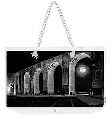 Arched Moon Weekender Tote Bag