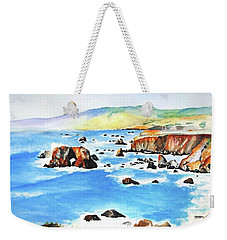 Arched Rock Sonoma Coast California Weekender Tote Bag