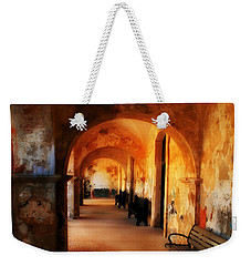 Arched Spanish Hall Weekender Tote Bag by Perry Webster