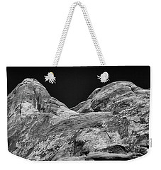 Arches Abstract Monochrome Weekender Tote Bag