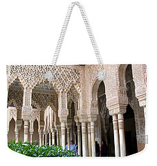 Arches And Columns Granada Weekender Tote Bag