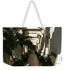 Weekender Tote Bag featuring the photograph Arches by John Schneider