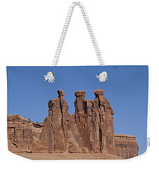 Arches National Park Weekender Tote Bag by Cynthia Powell