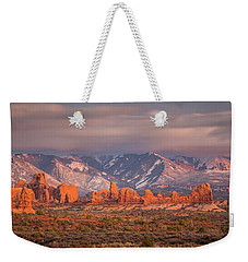 Arches National Park Pano Weekender Tote Bag