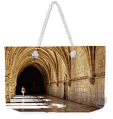 Arches Of Jeronimos Weekender Tote Bag by Marion McCristall