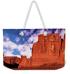Weekender Tote Bag featuring the photograph Arches Pano by Norman Hall