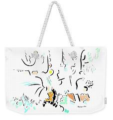 Archimedes Weekender Tote Bag