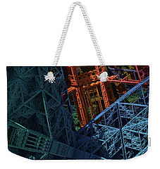 Architect's Nightmare Weekender Tote Bag by Lyle Hatch
