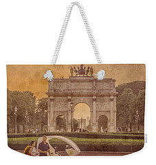 Paris, France - Arcs Weekender Tote Bag