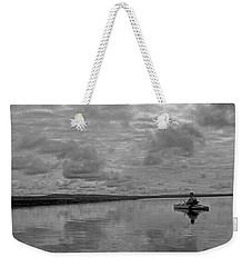 Arctic Kayak Weekender Tote Bag