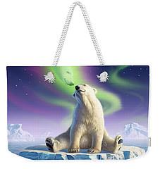 Arctic Kiss Weekender Tote Bag by Jerry LoFaro