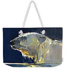 Arctic Silhouette Weekender Tote Bag