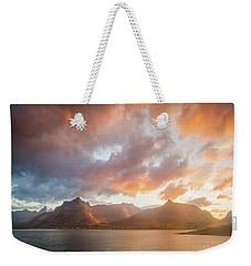 Arctic Susnset Weekender Tote Bag
