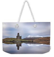 Ardvreck Castle Reflection Weekender Tote Bag