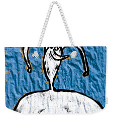 Are You Kidding Weekender Tote Bag by Mario Perron