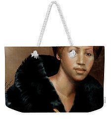 Aretha Franklin Once Upon A Queen Weekender Tote Bag