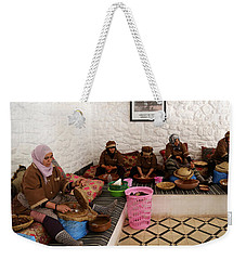 Weekender Tote Bag featuring the photograph Argan Oil 1 by Andrew Fare