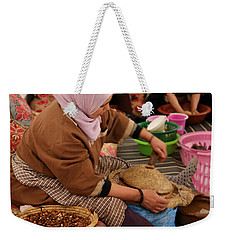 Weekender Tote Bag featuring the photograph Argan Oil 2 by Andrew Fare