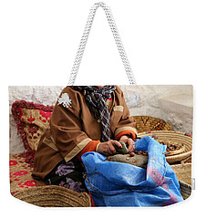 Weekender Tote Bag featuring the photograph Argan Oil 3 by Andrew Fare