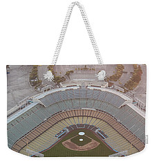Ariel Image Of Dodger Stadium Weekender Tote Bag
