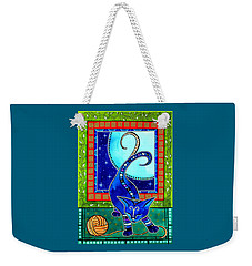 Aries Cat Zodiac Weekender Tote Bag
