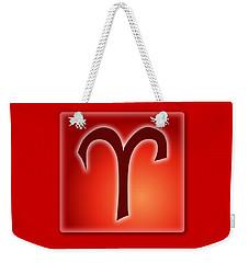 Aries  March 20 - April 19 Weekender Tote Bag