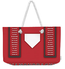 Arizona Diamondbacks Art - Mlb Baseball Wall Print Weekender Tote Bag