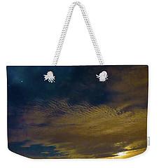 Arizona Moonset Weekender Tote Bag by Kimo Fernandez