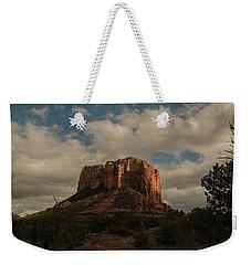 Arizona Red Rocks Sedona 0222 Weekender Tote Bag by David Haskett