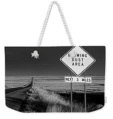 Arizona Road Weekender Tote Bag