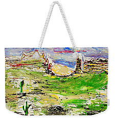 Arizona Skies Weekender Tote Bag by J R Seymour