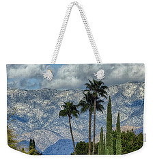 Arizona Snow Weekender Tote Bag