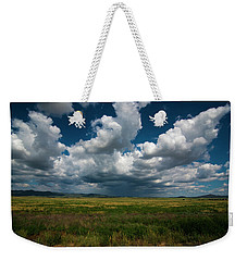 Weekender Tote Bag featuring the photograph Arizona Storm 2139  by David Haskett