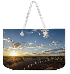 Weekender Tote Bag featuring the photograph Arizona Sunrise by Margaret Pitcher