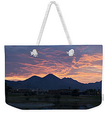Arizona Sunset 2 Weekender Tote Bag