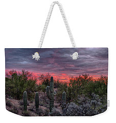 Arizona Sunset Weekender Tote Bag