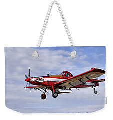 Arkansas Razorbacks Crop Duster Weekender Tote Bag