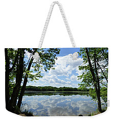 Arlington Reservoir Weekender Tote Bag
