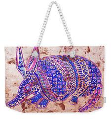 Armadillo Weekender Tote Bag by J- J- Espinoza